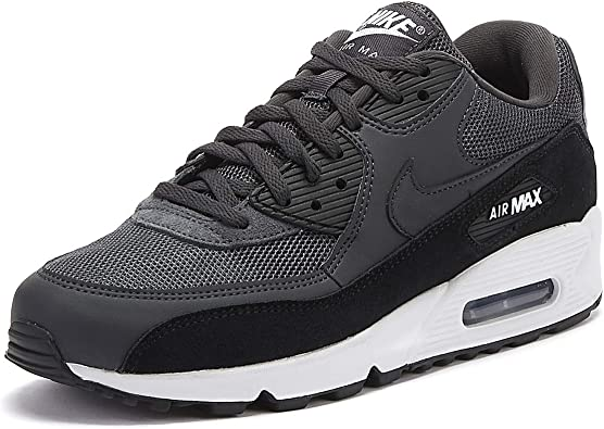 Nike Air Max 90 Essential - Zapatillas para hombre, color blanco y negro