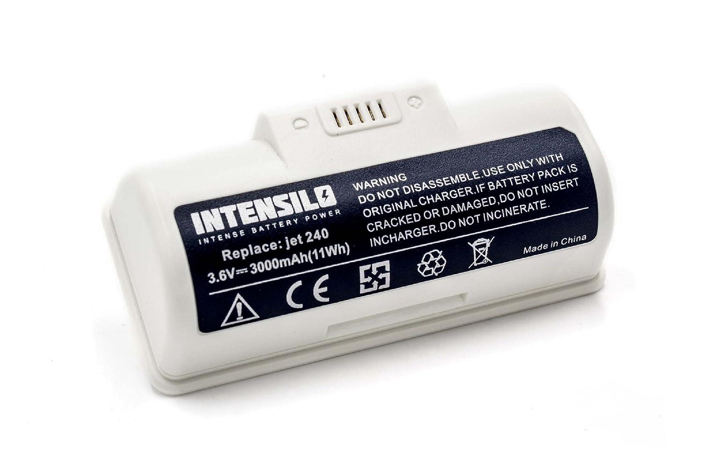 INTENSILO Li-Ion batería 3000mAh (3.6V) para robot de limpieza ...