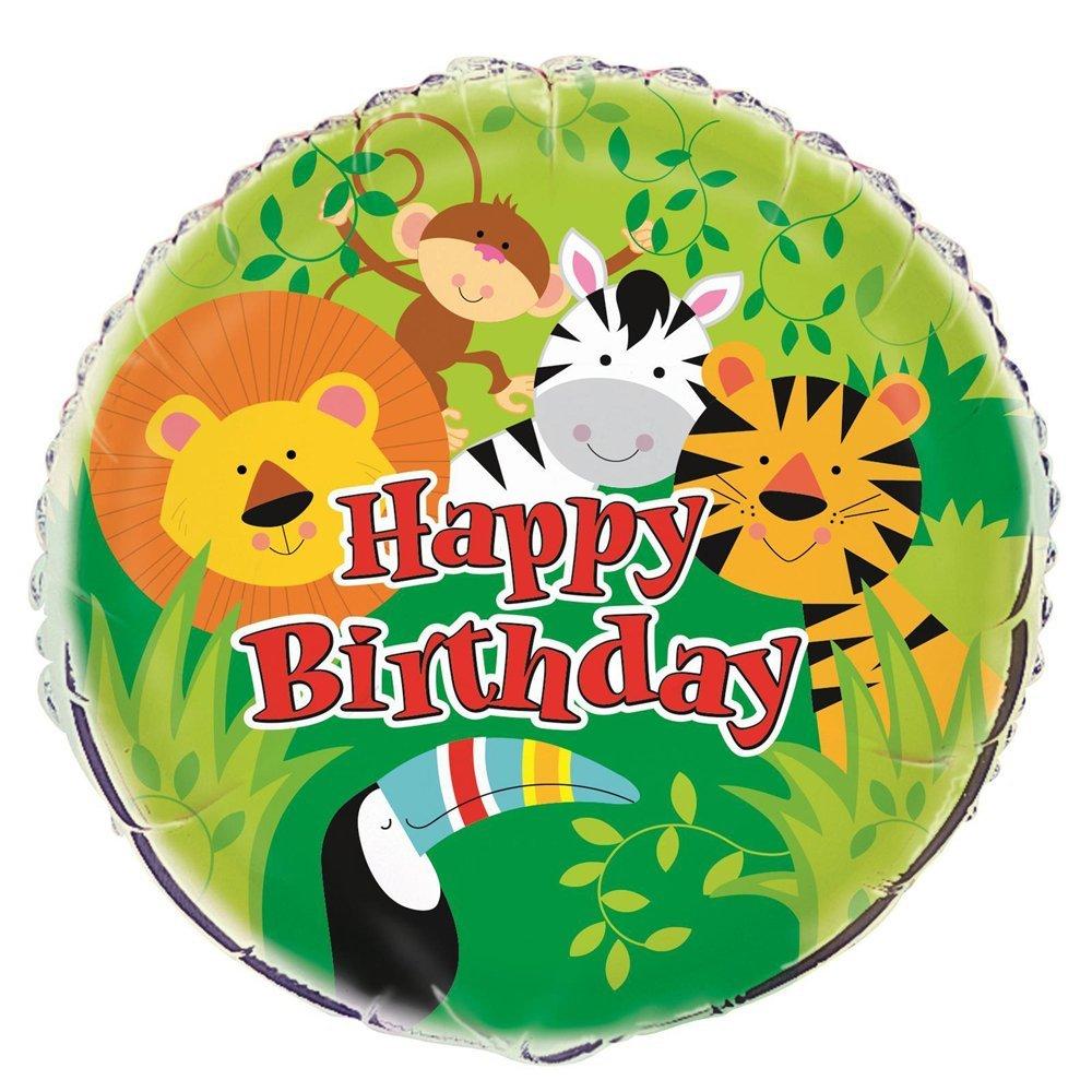 18'' Foil Animal Safari Balloon