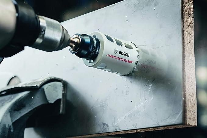 """Bosch Professional Power Change Plus Adapter Aufnahme 3//8/"""" Sechskant, /Ø 8,7 mm, Zubeh/ör Lochs/äge"""