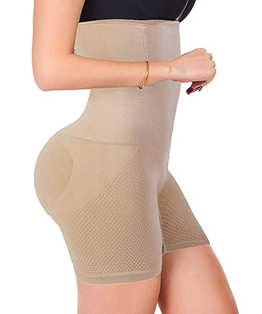 c1be2eb237 Amazon.com  Jason Helen Womens Body Shaper High Waist Butt Lifter Tummy  Control Panty Slim Waist Trainer  Clothing