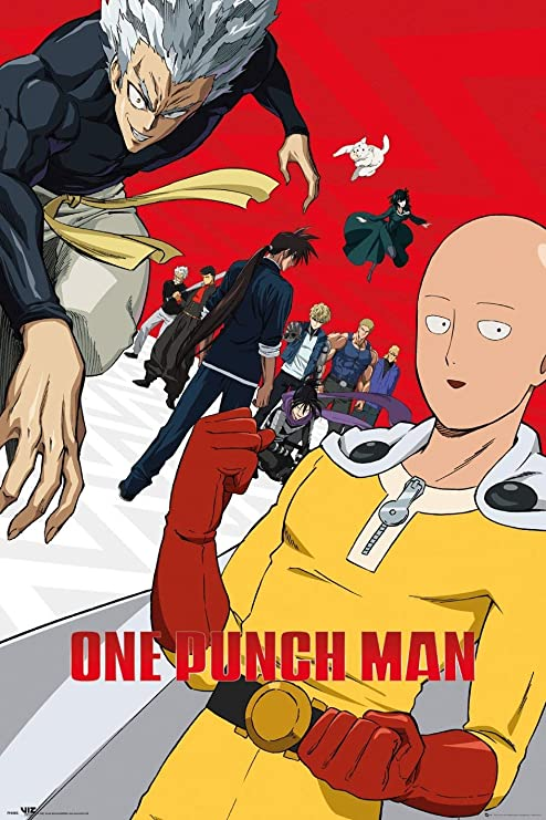 Amazon.com: One Punch Man - Anime TV Show Poster (Season 2 - Key  Art/Regular) (Size: 24 x 36 inches): Posters & Prints
