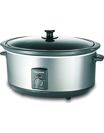 the latest 4ce91 a768c Morphy Richards 48718A - 6.5L Silver Slowcooker
