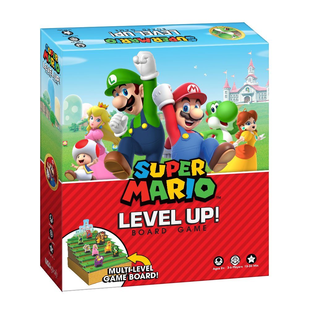 Super Mario Brettspiel Level Up (englische Version): Amazon.de ...