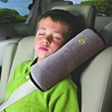 JHD Auto Pillow Car Safety Belt Protect Shoulder Pad Adjust Vehicle Seat Belt Cushion for Kids Children (Grey) (Gray)