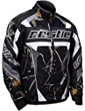 Castle X Bolt Realtree G4 Mens Snowmobile Jacket - Black Camo - MED