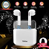 Wireless Earbuds,Bluetooth Wireless Headphones Earbuds Earphones HD Sound Sweatproof Noise Cancelling Built-in