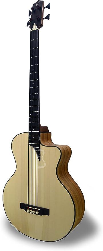 APC BG300 KOA MX CW - Bajo Guitarra acústica - Boca lateral ...