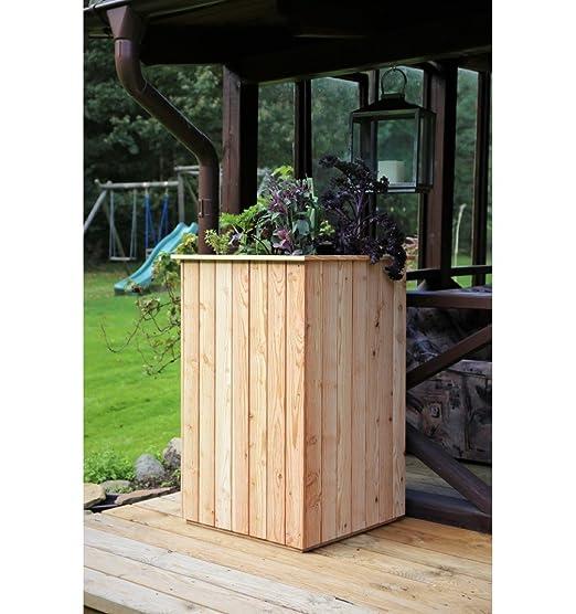 Bancal, madera de alerce, sin suelo, 60 x 60 x h 100 cm madera ...