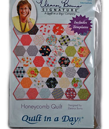 Amazon.com: Honeycomb Quilt Pattern and Template : honeycomb quilt pattern - Adamdwight.com