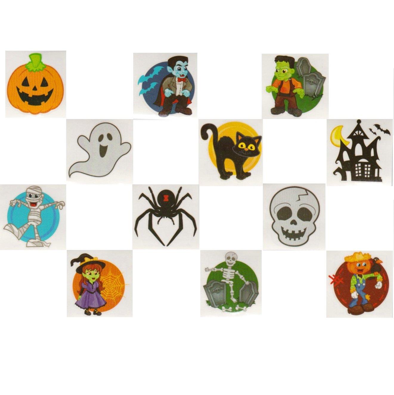 157 Piece Mega Halloween Toy Novelty Assorment; 12 Halloween Ducks 12 Halloween Pencils 12 Halloween Sticker Sheets; 48 Halloween Erasers; 72 Halloween Glitter Tattoos /& Sticker Roll!!