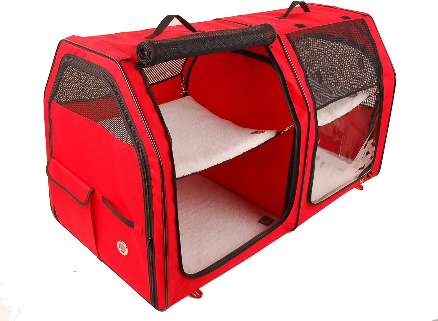 One for Pets Cat Show House Portable Dog Kennel