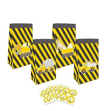 Amazon.com: Bolsas para regalos con señales de advertencia ...