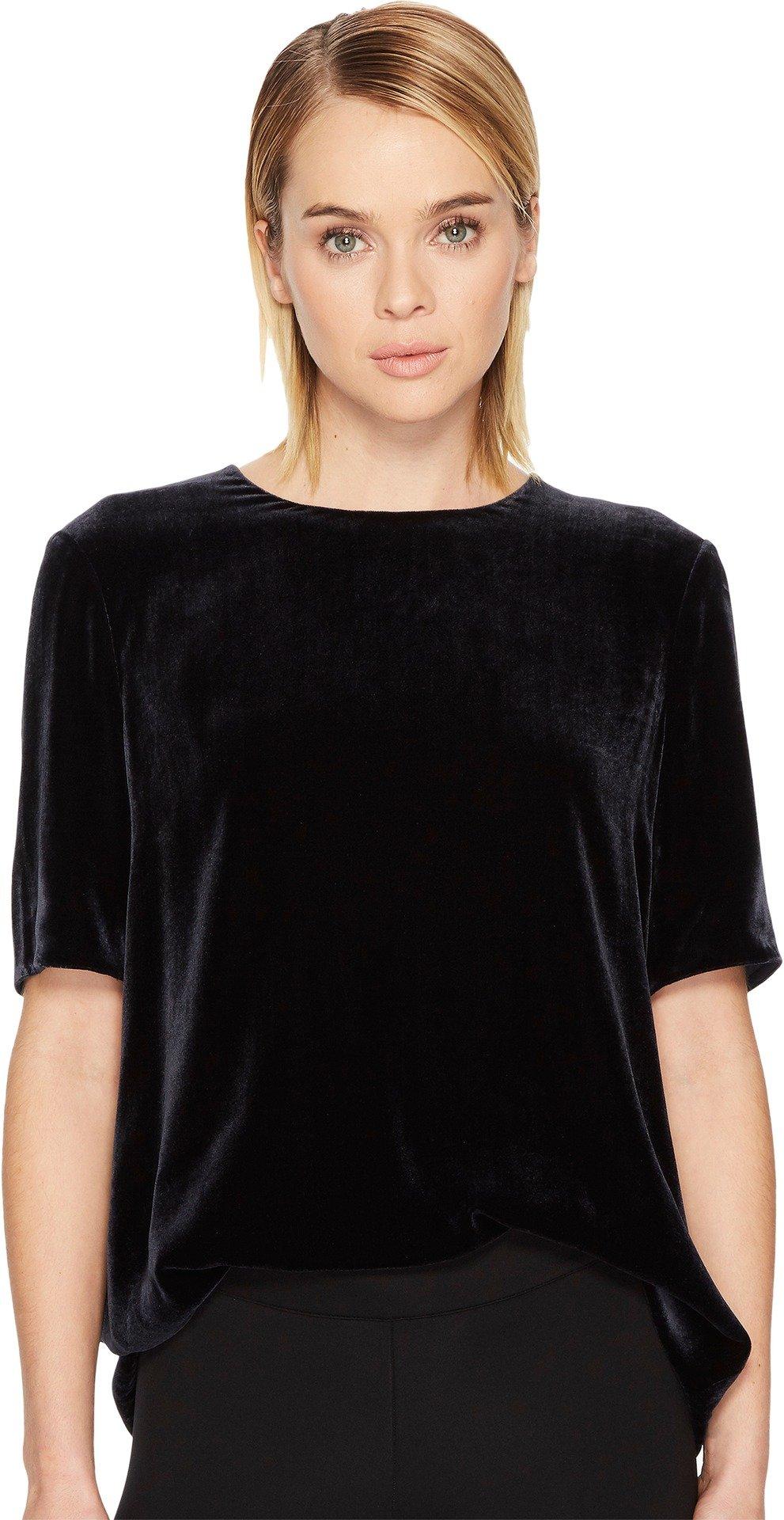 Vince Women's Velvet T-Shirt Coastal Medium