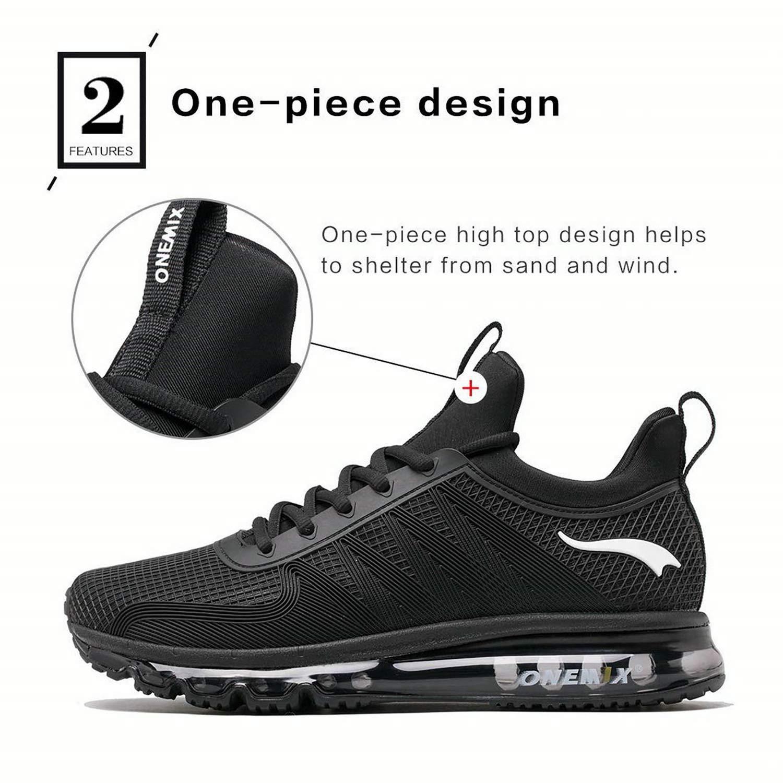 Onemix Air Laufschuhe Turnschuhe Herren Herren Herren Fitness Schuhe mit Luftpolster Sportschuhe Turnschuhe 0798d0