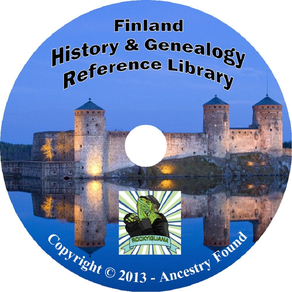 Download 12 old books FINLAND Finnish Scandinavia History & Genealogy Family Tree ebook