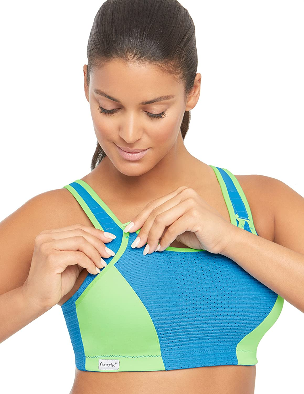 Glamorise Womens Double-Layer Custom-Control Sport Bra 1166