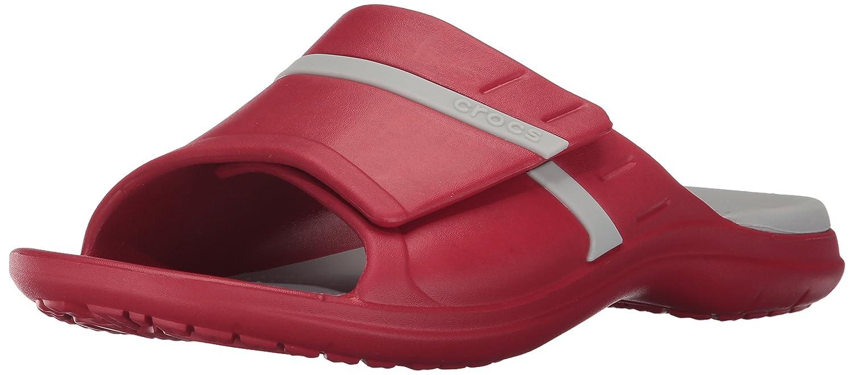 Crocs Unisex Modi Sport Slide B01NBMU5OA 12 US Men / 14 US Women|Pepper/Pearl White