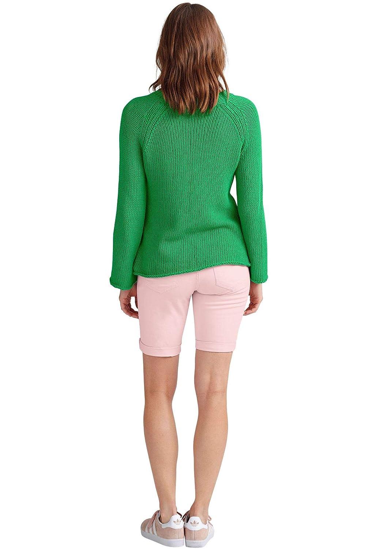 e9f930d790e Ellos Women s Plus Size Stretch Twill Bermuda Shorts at Amazon Women s  Clothing store