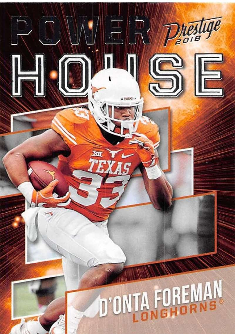 Amazon.com: 2018 Prestige NFL Power House #PH-DO D'Onta Foreman ...
