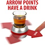 Barbuzzo Original Spin the Shot – Fun Party Drinking Game, Includes 2 Ounce Shot Glass