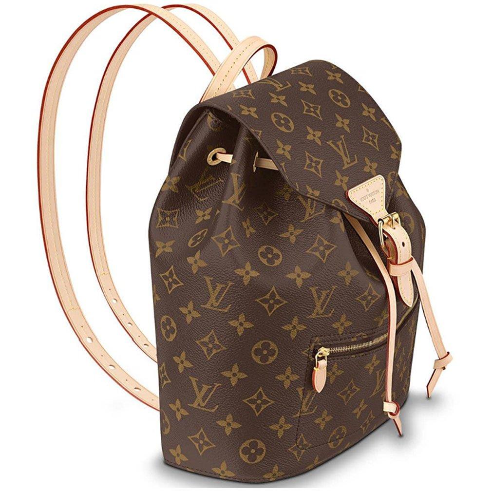 fa57e5932f Amazon.com  Louis Vuitton Monogram Canvas Backpack Montsouris Article    M43431 Made in France  Shoes