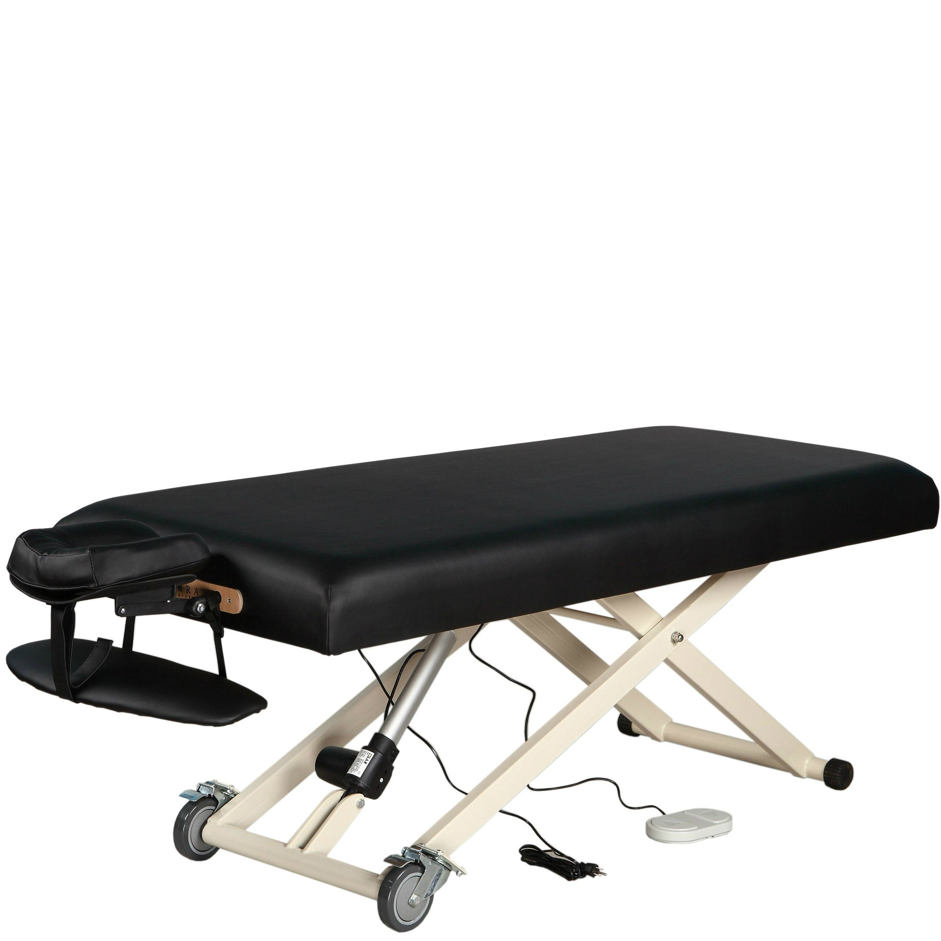 SierraComfort Electric Lift Massage Table, Black by SierraComfort (Image #1)
