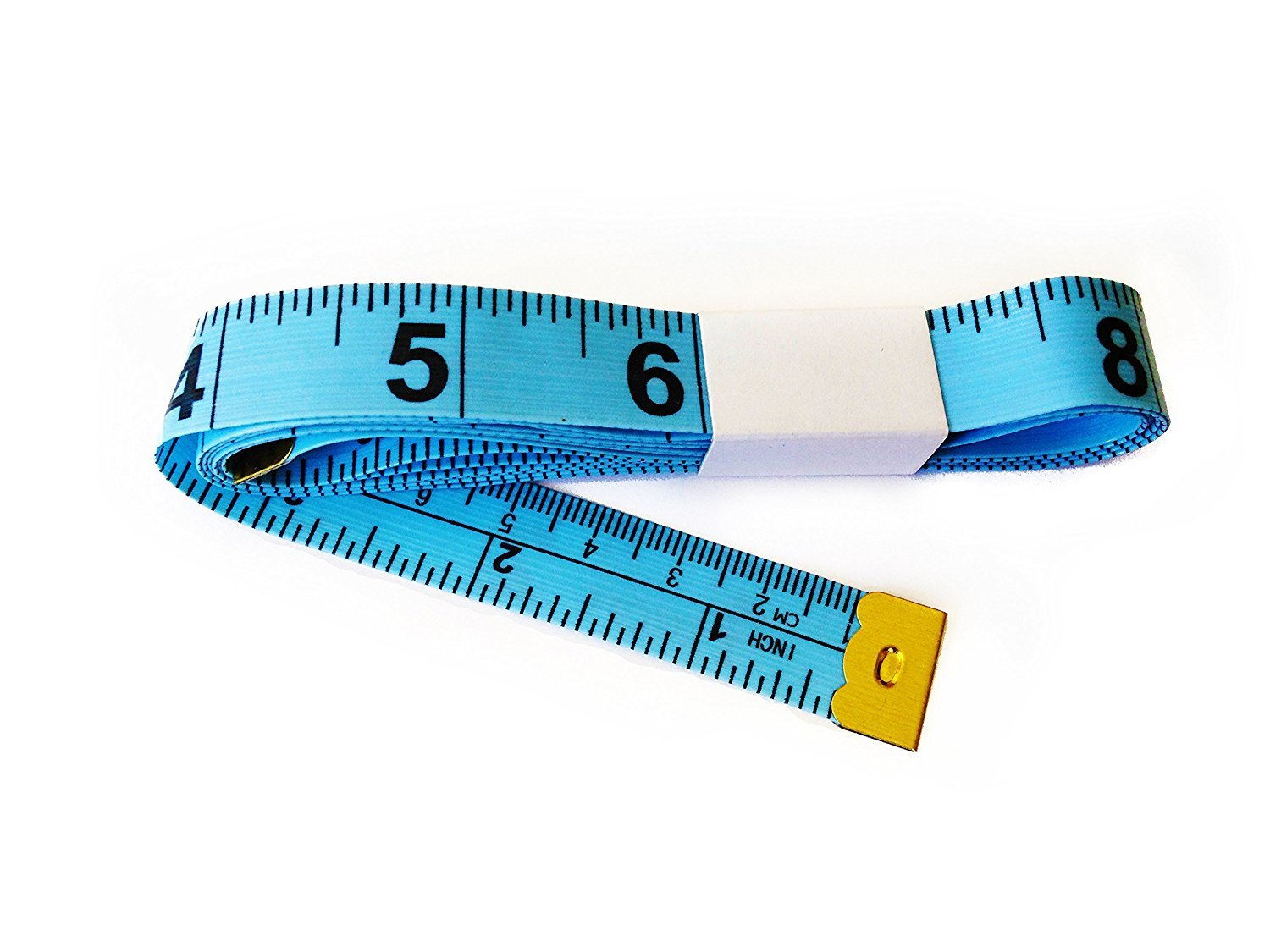 Water /& Wood Blue Sewing Tailor Seamstress Cloth Ruler Tape Measure 1.5M