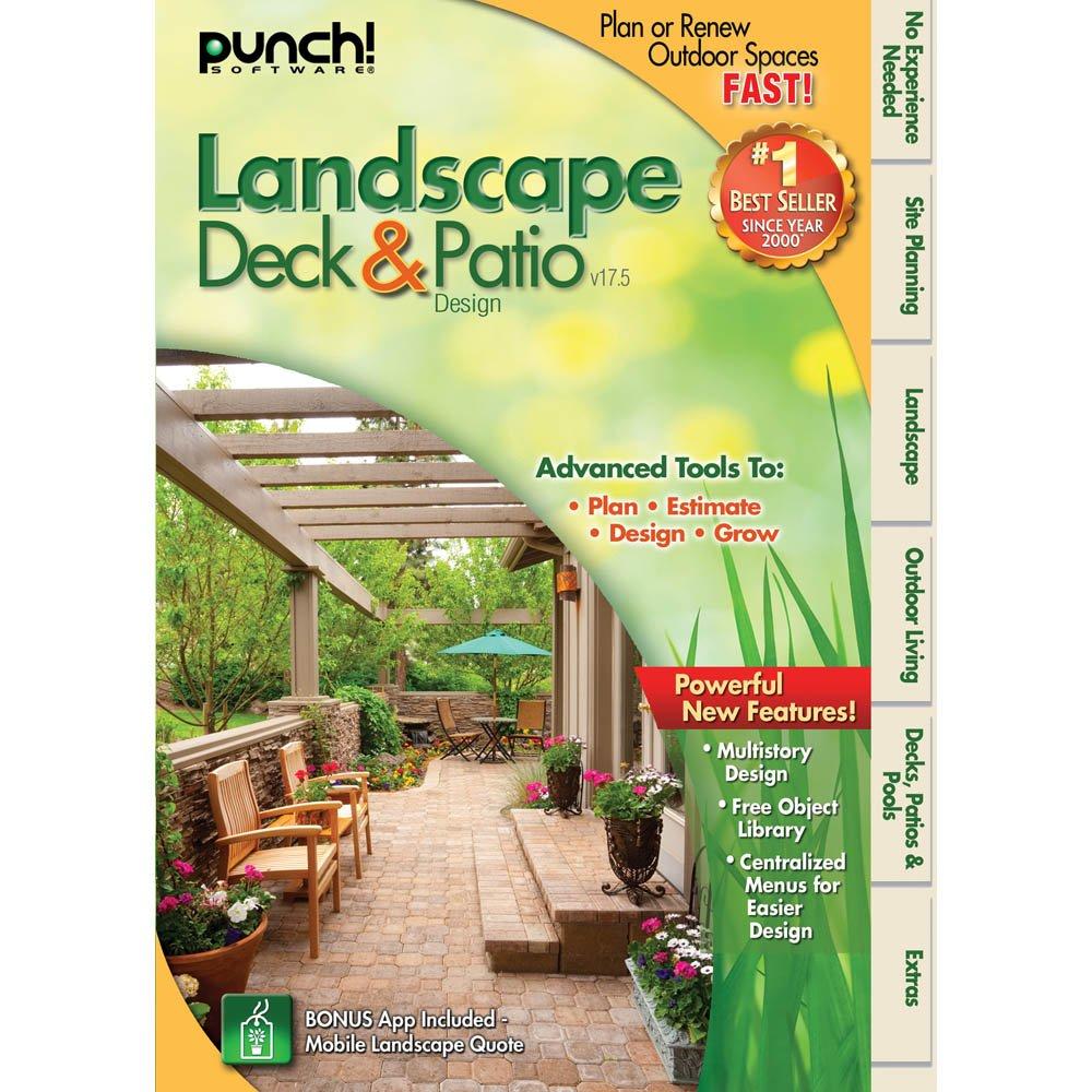 Nice Amazon.com: Punch! Landscape, Deck And Patio Designer V17.5 [Download]:  Software