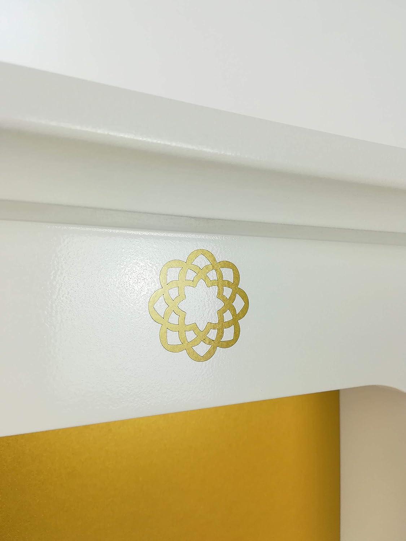 Butsudan//Butsudan FLORA WHITE EDITION//ISG Buddhistischer Altar Soka Gakkai kratzfestes Verbundmaterial Wei/ß Lack//WhiteDesign Butsudan