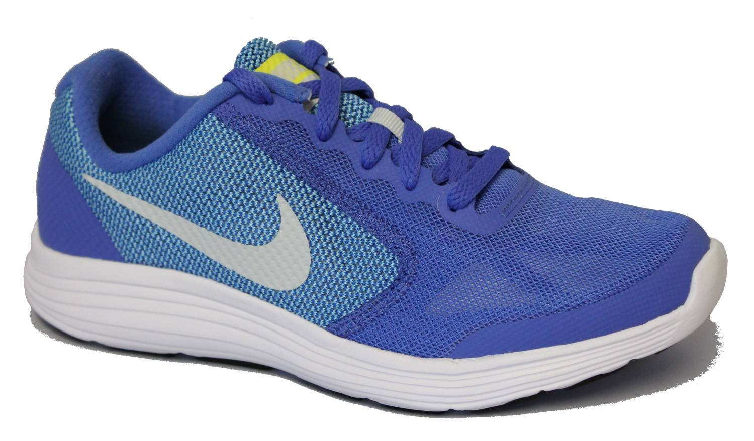 NIKE ' Revolution 3 (GS) Running Shoes B01GXWVV7O 6 M US Big Kid|Medium Blue/Pure Platinum/Polarized Blue