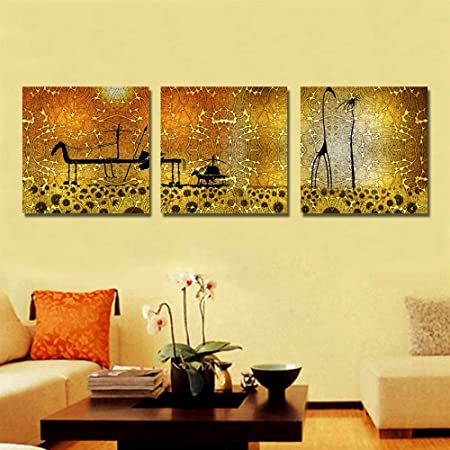 Mon Kunst Canvas Art Canvas Print Abstract 3 Panel Print Hot Sell ...
