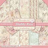 kit papier scrapbooking Shabby Rose stamperia