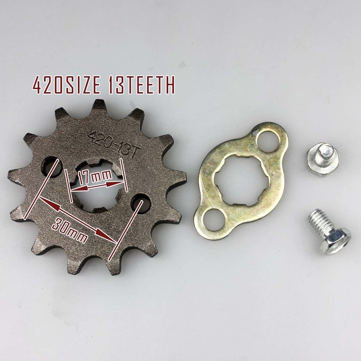 Wingsmoto Sprocket Front 420-13T 17mm Motorcycle ATV Dirtbike