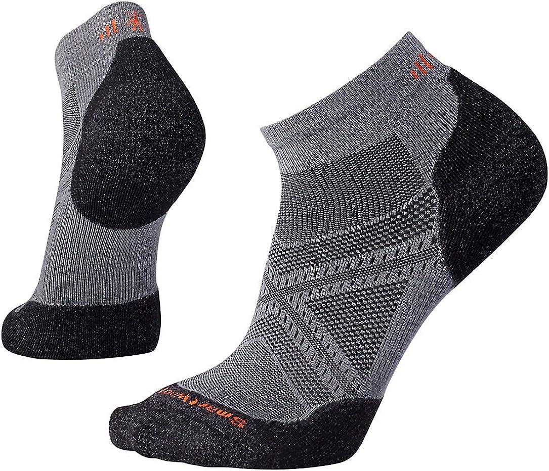 Smartwool Phd Run Light Elite Low Cut Mens Underwear Sports Socks Black