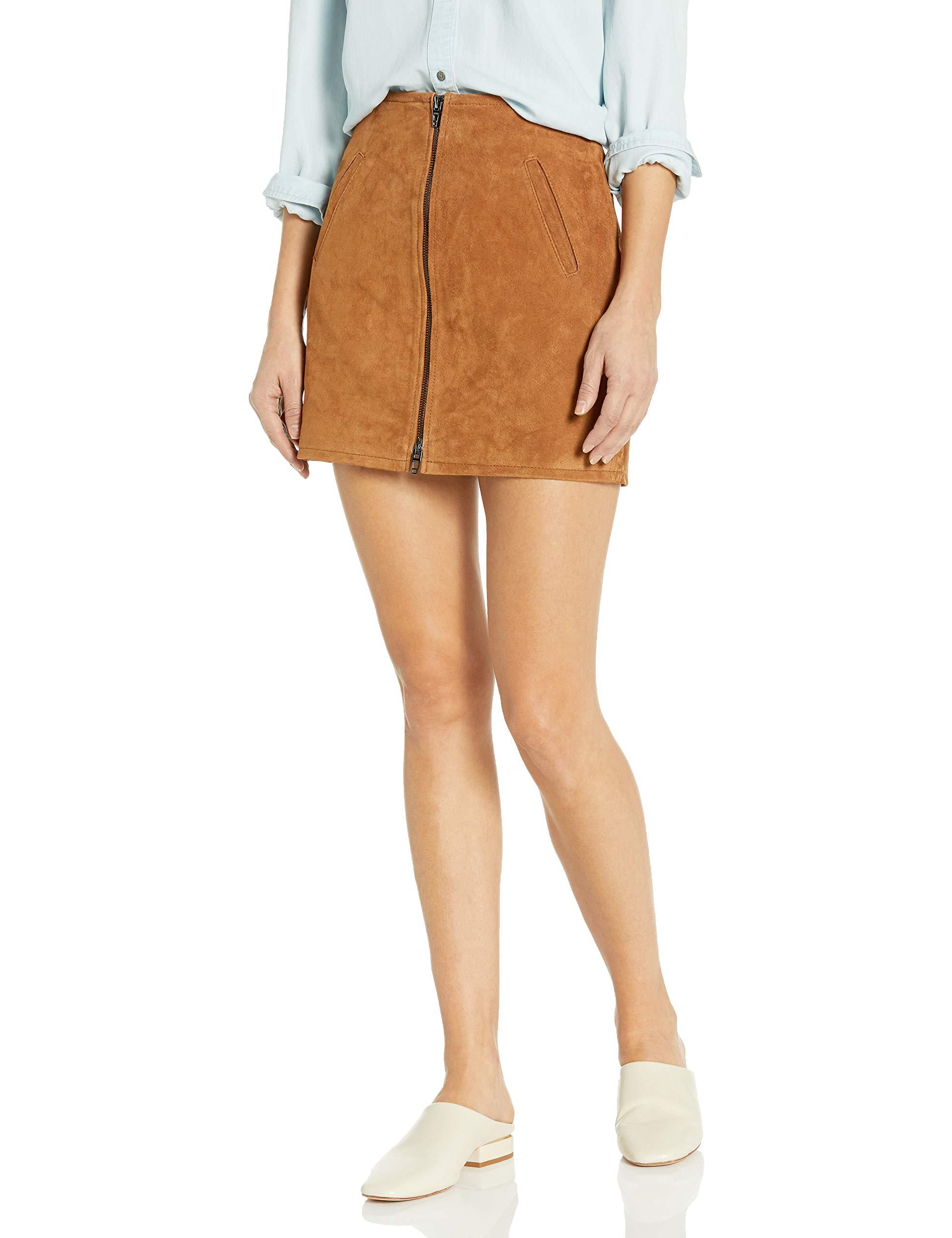 [BLANKNYC] Women's Suede Mini Skirt