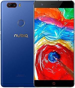 """ZTE Nubia Z17 Lite - Octa-Core 4G Smartphone libre de 5.5"""" [1920*1080] / Snapdragon 653 1.9 GHz, 6GB de RAM, 64GB de ROM, Cmara dual de 13 MP + 13MP, Android 7.1 con Dual-SIM: Amazon.es: Electrónica"""