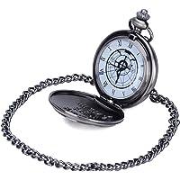 Fullmetal Alchemist Brotherhood - Ed Pocket Watch Necklace Cosplay Accessories Silver