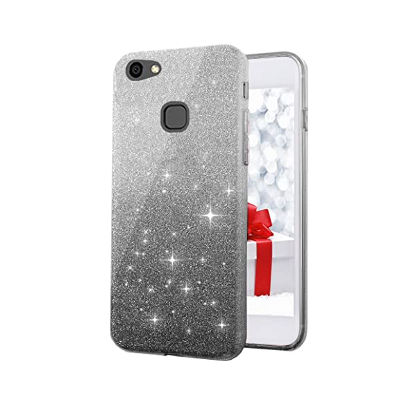 watch 6dbc3 db86d Go Hooked Glitter Skin Soft Silicone Slim Back Cover: Amazon.in ...