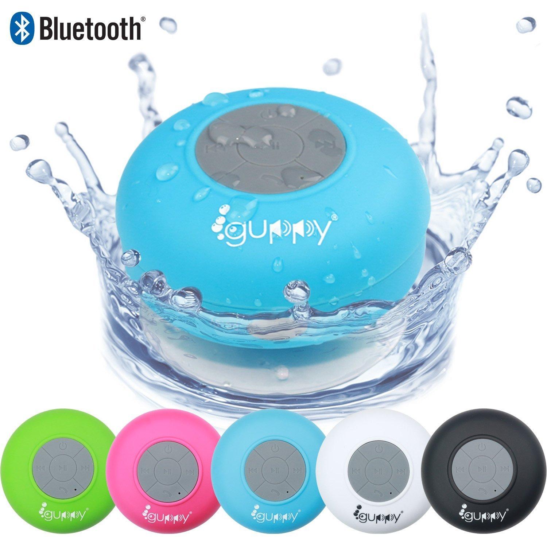 Amazon.com: Guppy Water Resistant Bluetooth Shower Speaker ...