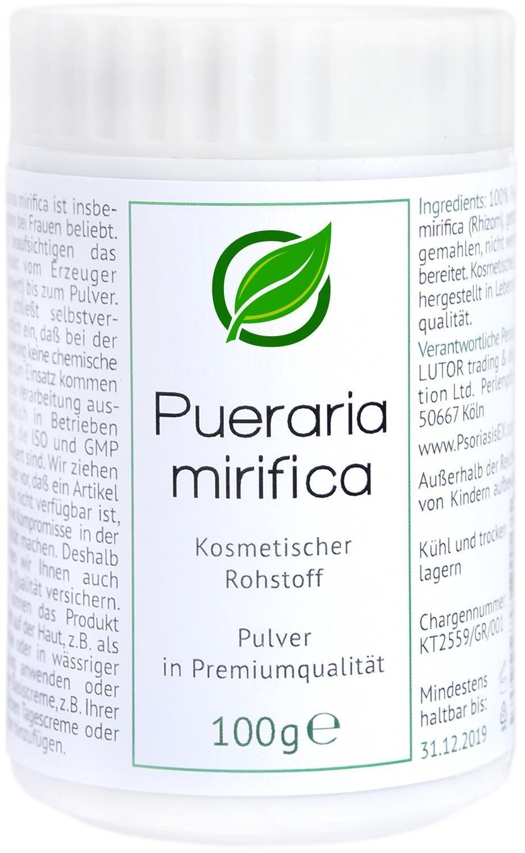 Pueraria mirifica | composizione cosmetica | 100 grammi PsoriasisEX