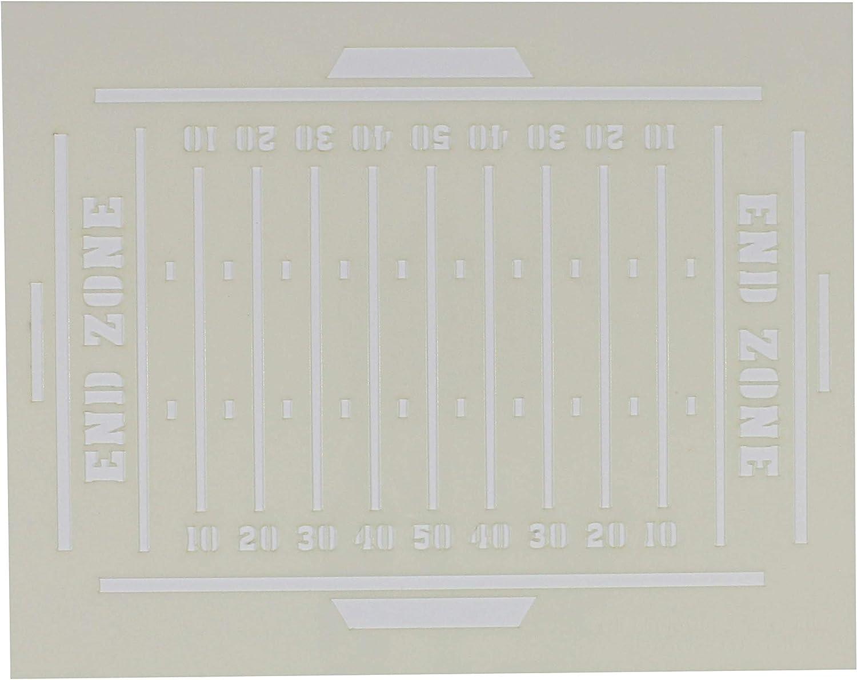 Football Field Stencil 12 x 15-14 Mil Painting//Crafts// Templates
