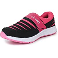 TRASE Touchwood Women's Shark Sports Shoes for Running & Jogging (with Hook & Loop Fastner)
