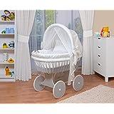 WALDIN Baby Stubenwagen Set Mit AusstattungXXLBollerwagenkomplett