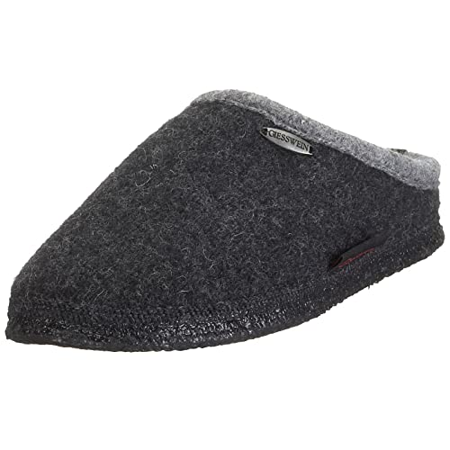 Giesswein 32/10/42084 Dannheim Unisex Slipper, Grey, 3.5 UK (36