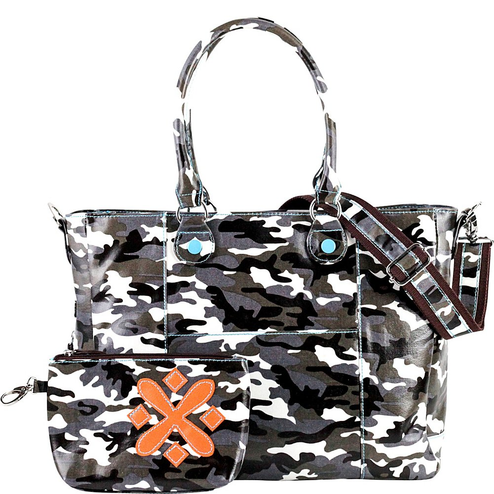 Urban Junket t.o.t.e. Laptop Tote 15'' (Grey Camouflage)