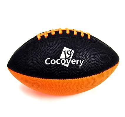 Balón Fútbol Americano Playa-Cocovery19 (Naranja): Amazon.es ...