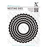 Docrafts Nesting Dies, Scalloped Circle (Pack of 5)
