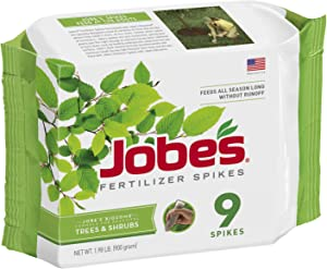 Jobe's 01310 1310 Fertilizer, 9 Spikes