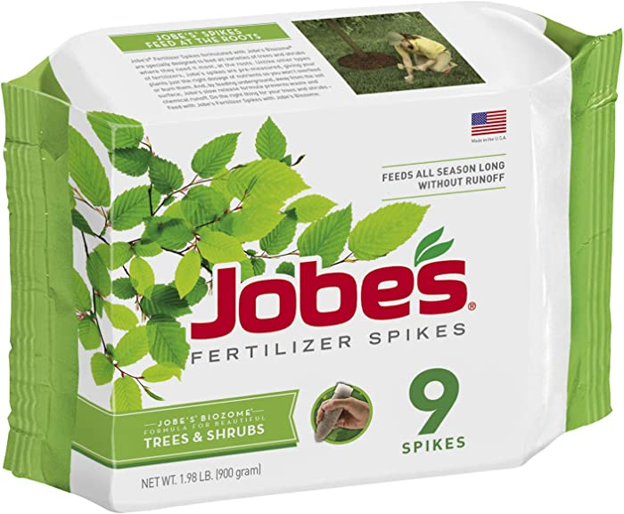Jobe's 01310 1310 Fertilizer, 9 Spikes
